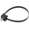 ABUS Bordo Combo 6100/90 SH Bike Lock white/black